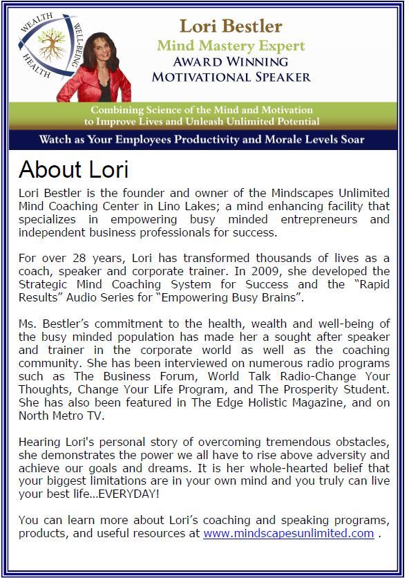 Lori Bestler Bio